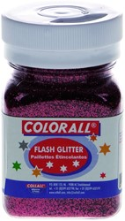 FLASH GLITTER COLORALL 150ML ROOD 150 ML