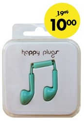 HEADSET HAMA HAPPY PLUGS EARBUD IN EAR KOBALT 1 STUK