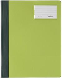 SNELHECHTER DURABLE 2500 A4 PVC ETIKETVENSTER GN 1 STUK