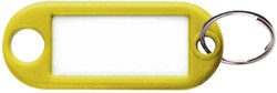 SLEUTELLABEL PLASTIC GEEL 1 STUK