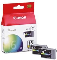 INKCARTRIDGE CANON BCI-16 2X KLEUR 2 STUK