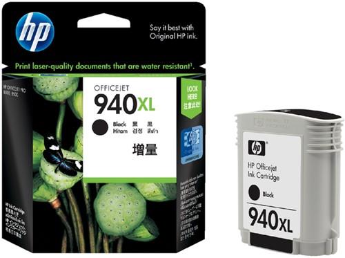 INKCARTRIDGE HP 940XL C4906AE HC ZWART 1 Stuk