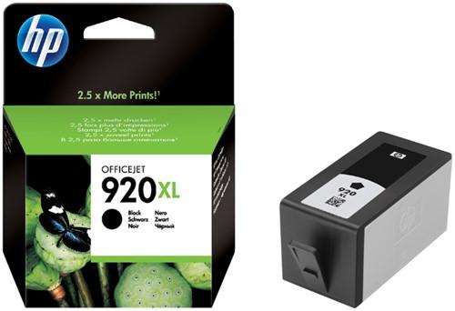 INKCARTRIDGE HP 920XL CD975AE HC ZWART 1 Stuk