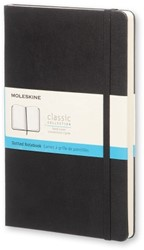 NOTEBOOK LARGE BLACK HARDCOVER DOTTED