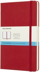 NOTEBOOK LARGE ROOD SOFTCOVER DOTTED