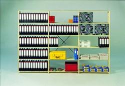 Massiefhouten legbord stellingsysteem 40DX200HX103B