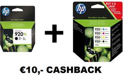HP Multipack cashback