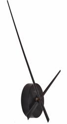 wandklok NeXtime dia. 48x3 cm aluminium, zwart, 'Small Hands'