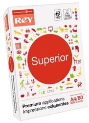 KOPIEERPAPIER REY SUPERIOR A4 80GR WIT 500 VEL