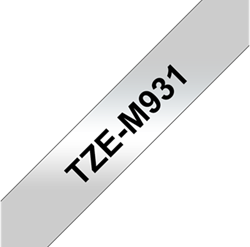 BROTHER LETTERTAPE P-TOUCH TM931 ZIL/Z